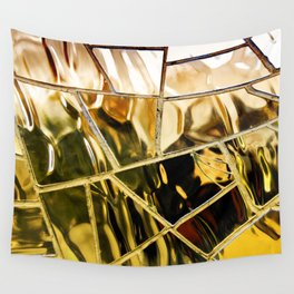 Liquid Gold Wall Tapestry