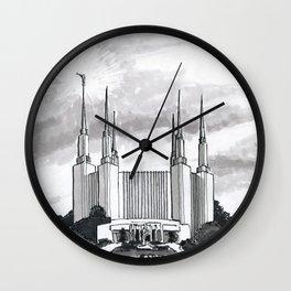 Washington D.C. Temple Wall Clock