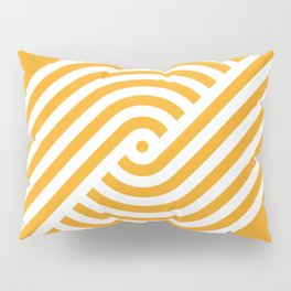 Incurve [Orange] Pillow Sham