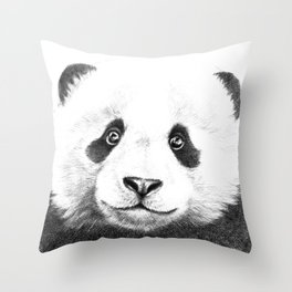Giant  Panda G100 Throw Pillow