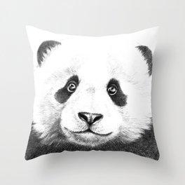 Giant  Panda G100 Throw Pillow