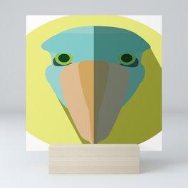 Shoebill Stork Icon Mini Art Print