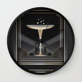 Art deco design VI Wall Clock