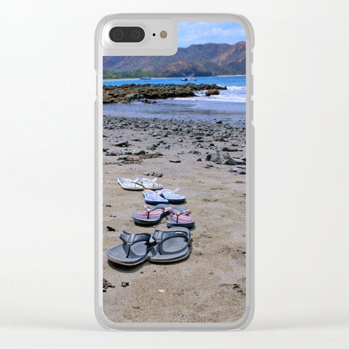 Return to Costa Rica Clear iPhone Case