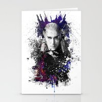thranduil Stationery Cards featuring Thranduil by Ryky