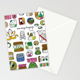 New Maya Language Stationery Cards