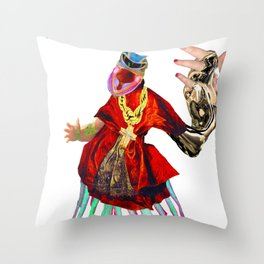 YOUNGBLOOD PRIEST Throw Pillow