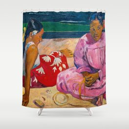 Paul Gauguin - Tahitian women Shower Curtain
