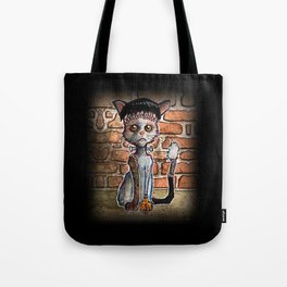 Franken Kitty Tote Bag