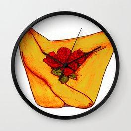 Full Bloom Wall Clock