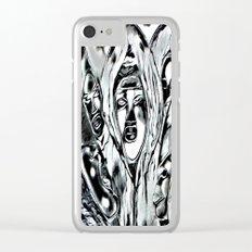 Cabsink17DesignerPatternRESIT Clear iPhone Case