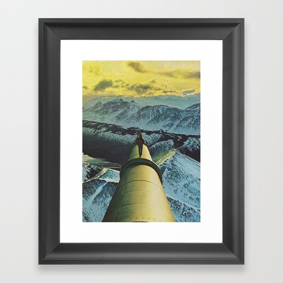the farthest place Framed Art Print
