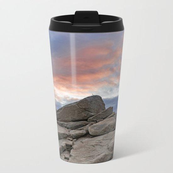 Granite Sunset Metal Travel Mug