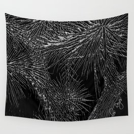 Joshua Tree Silver by CREYES Wall Tapestry