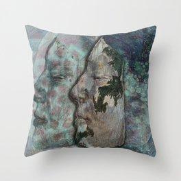 Lunar Chameleon Throw Pillow