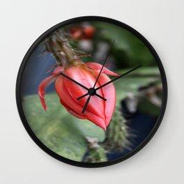 Beautiful Cactus Bud Wall Clock