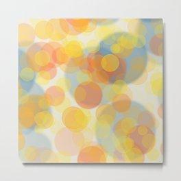 Sunny bubbles Metal Print