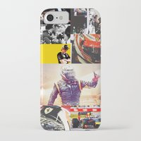 formula 1 iPhone & iPod Cases featuring Formula 1 Collage by Rassva