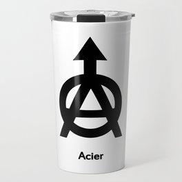 Acier Alchemy Symbol Travel Mug