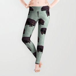 Hippopotamus Leggings