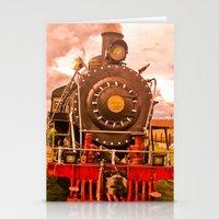train Stationery Cards featuring Train by Alejandra Triana Muñoz (Alejandra Sweet