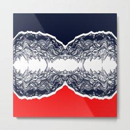 Seismic Metal Print