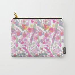 Watercolour Garden Pattern Carry-All Pouch