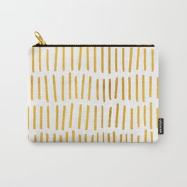 Golden Twigs Geometric Print Carry-All Pouch