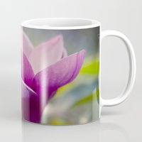 magnolia Mugs featuring magnolia by Sharon Mau