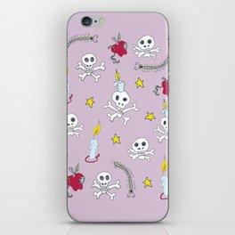 voodoo skulls iPhone Skin