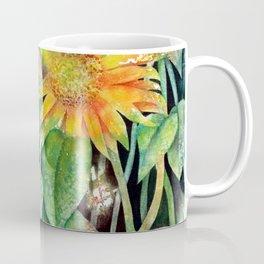 Colorful Sunflowers Coffee Mug