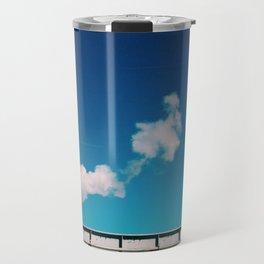 chimney smoke Travel Mug