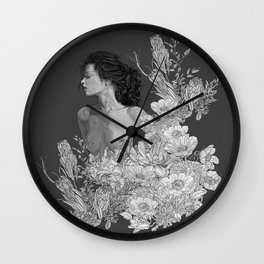 Deep Lounge Wall Clock