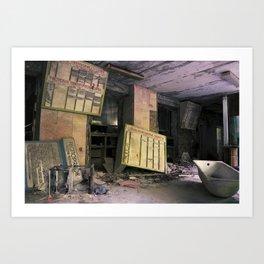 Chernobyl - осереддя Art Print