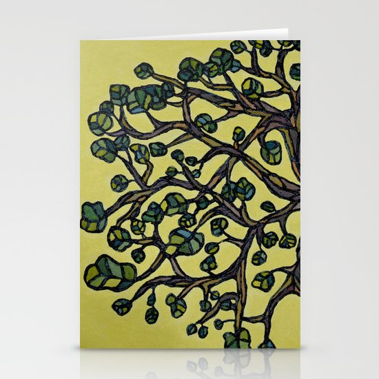 Texture Tree Stationery Cards