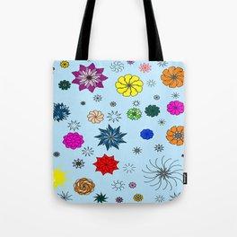 color me flaky Tote Bag