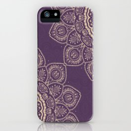 Lavender Tulips iPhone Case