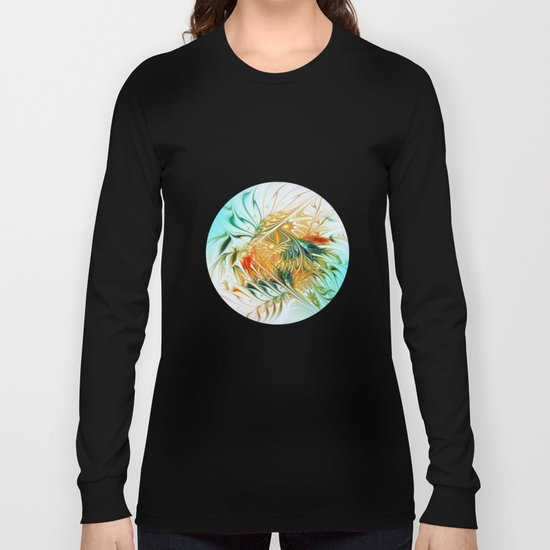 Gently Moving Waves Long Sleeve T-shirt