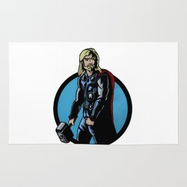 The Mighty Thor Rug