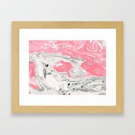 Marble + Bubblegum #society6 #decor #buyart Framed Art Print