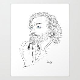 Timothy Omundson Art Print