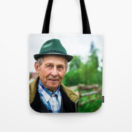 Romanian Mountain Man Tote Bag