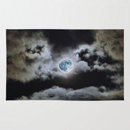 Blue Moon I Wonder Rug