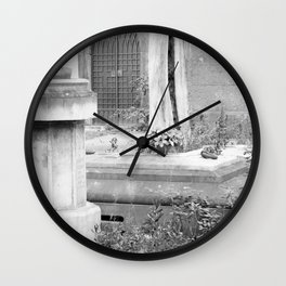 grave Wall Clock