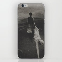 My father has left me in the woods  iPhone Skin
