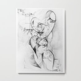 Affinity Metal Print
