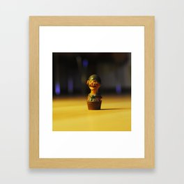 Little pirate Framed Art Print