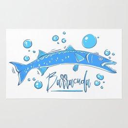 Big Blue Barracuda Rug
