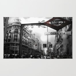 Gran Via-Madrid Rug