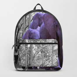 Purple guests Backpack